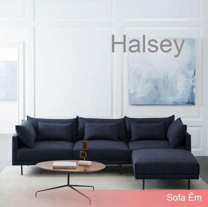Ghế Sofa Góc L Halsey